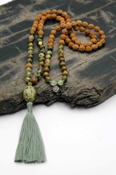 """A new Dawn"" Mala necklace"