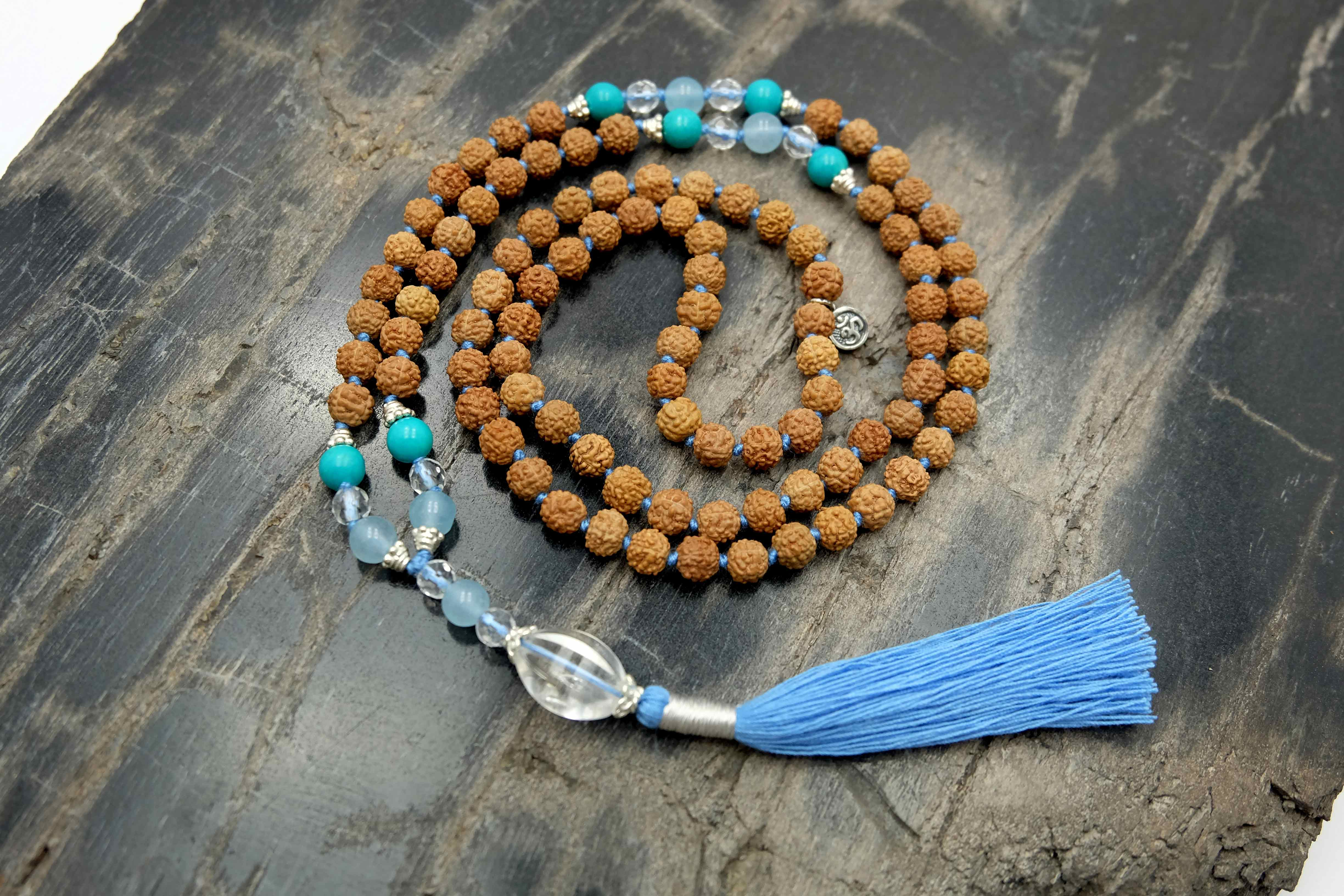 """The Ocean of U"" Mala necklace"