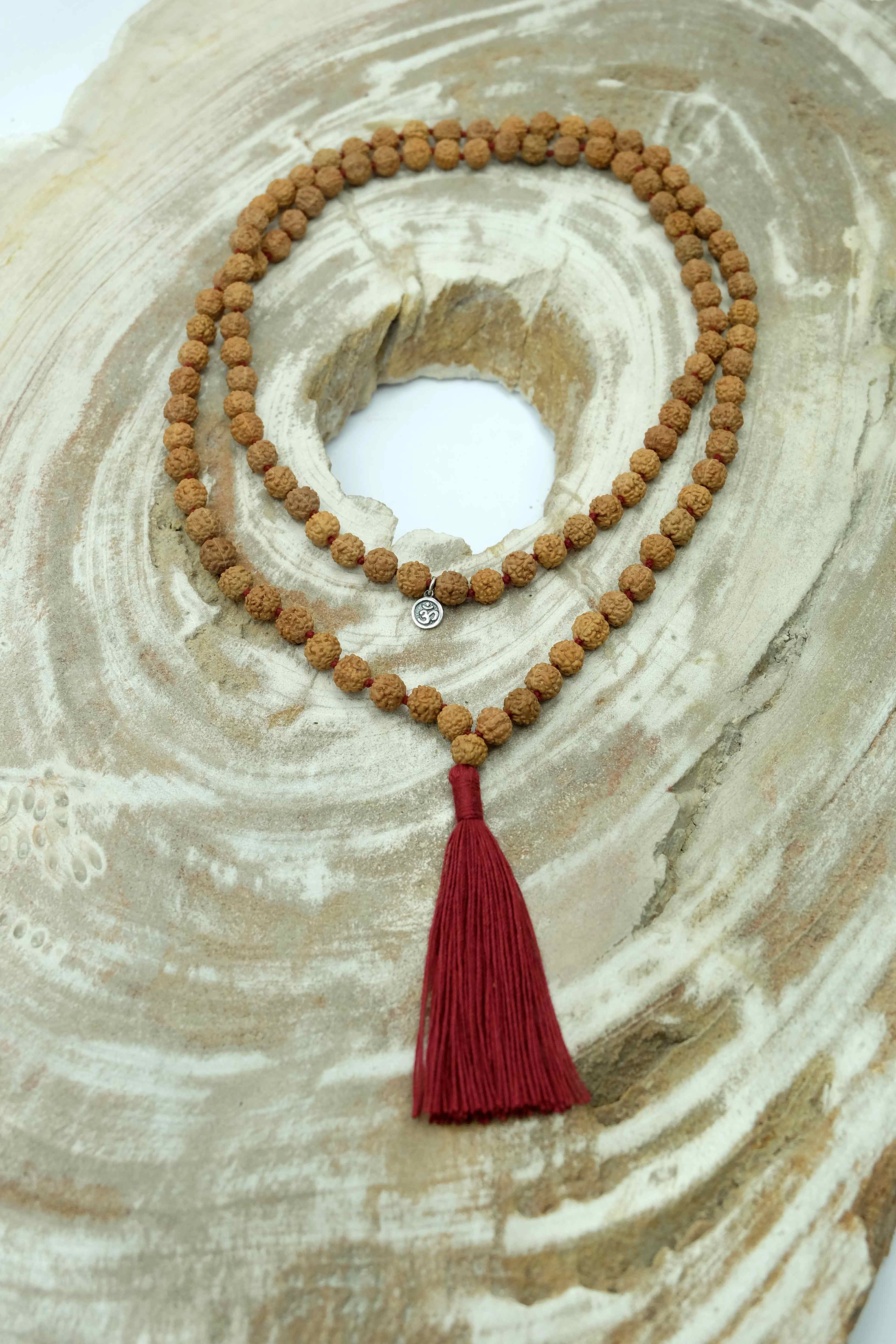 """Back to Basics"" Mala necklace"