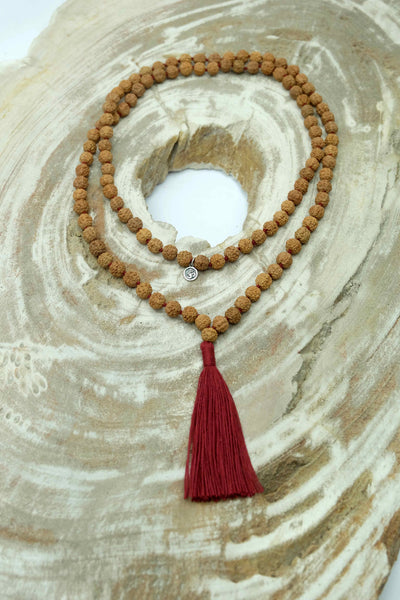 """The Apple of My Eye"" Mala necklace for kids"