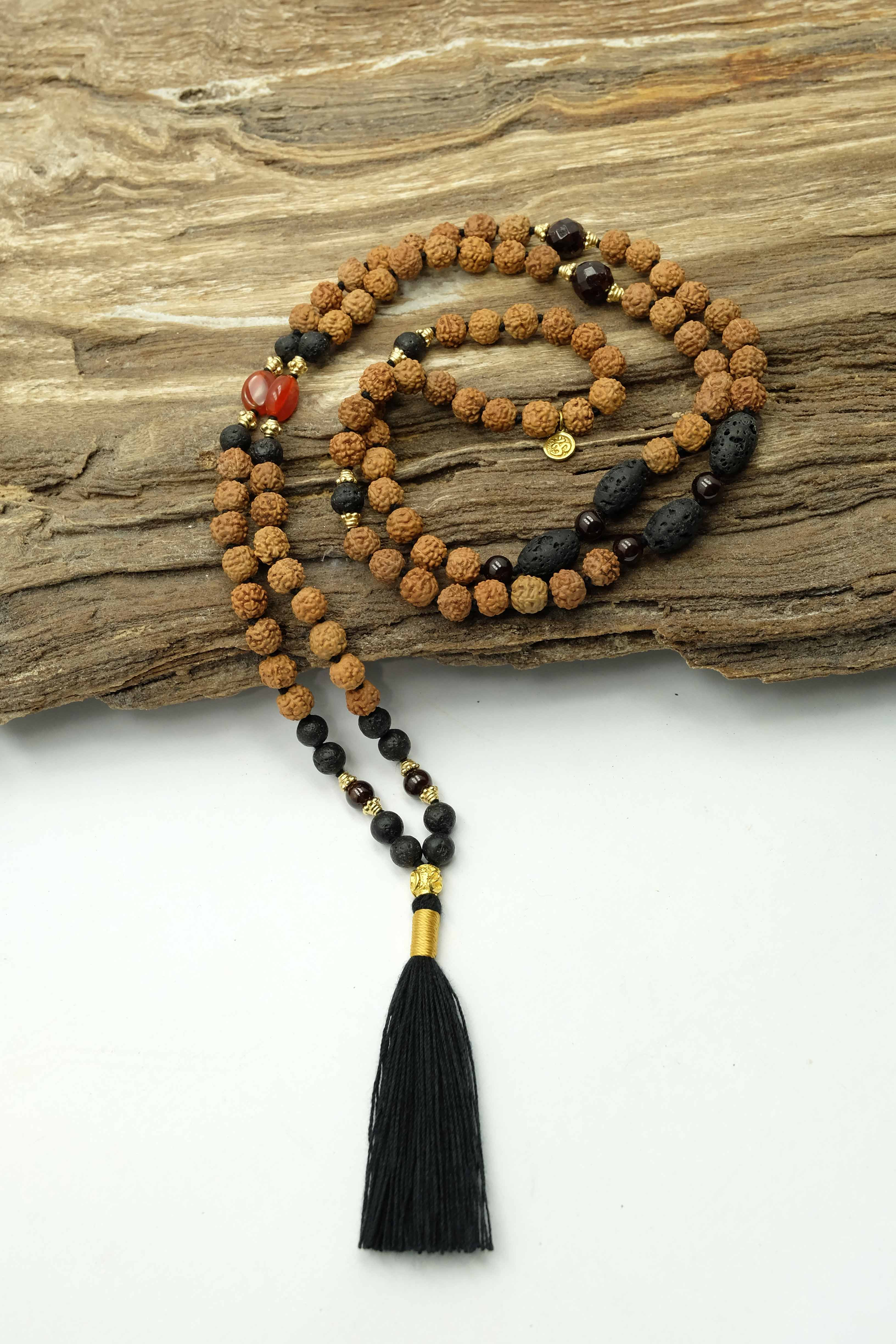"""A new Leaf"" Mala necklace"