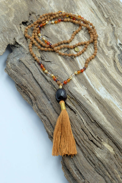 """The Healer"" Mala necklace"
