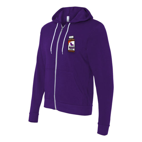 Purple Legal Lean Hoodie with Patch