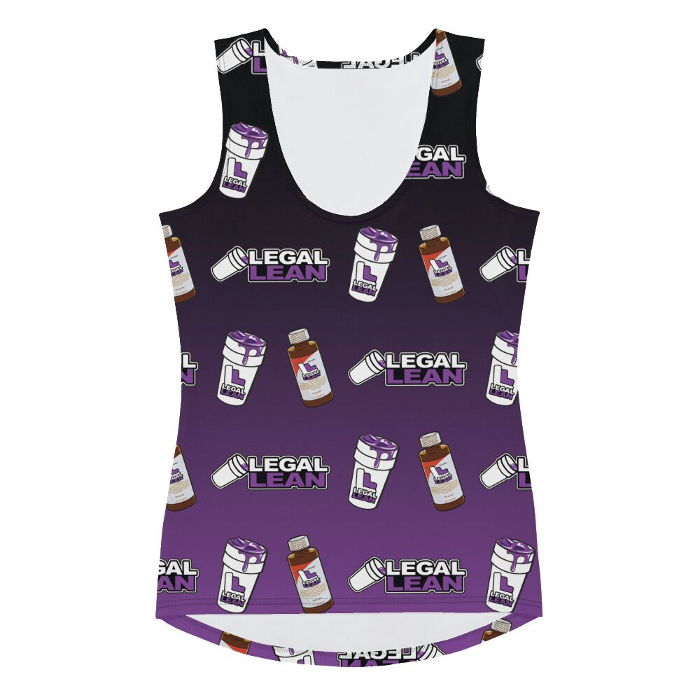 Copy of Legal Lean Womens Tank Top Purple & Black