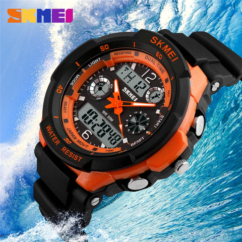 Sports Led Digital Quartz Watch