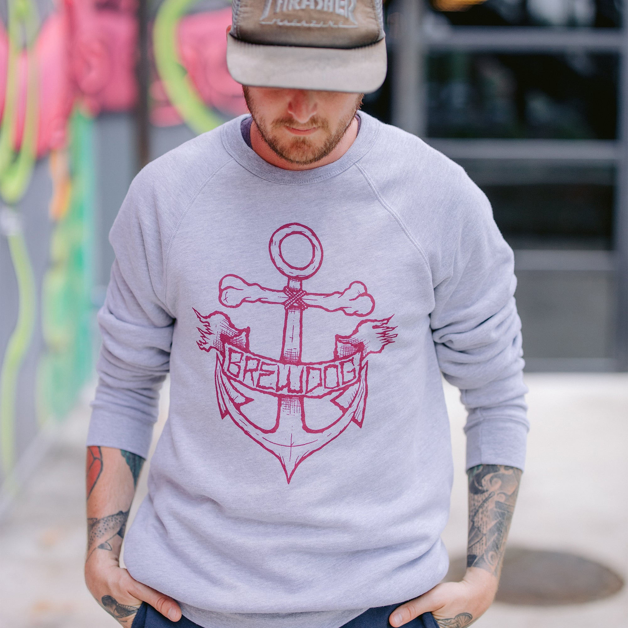 Anchor Gray Sweatshirt