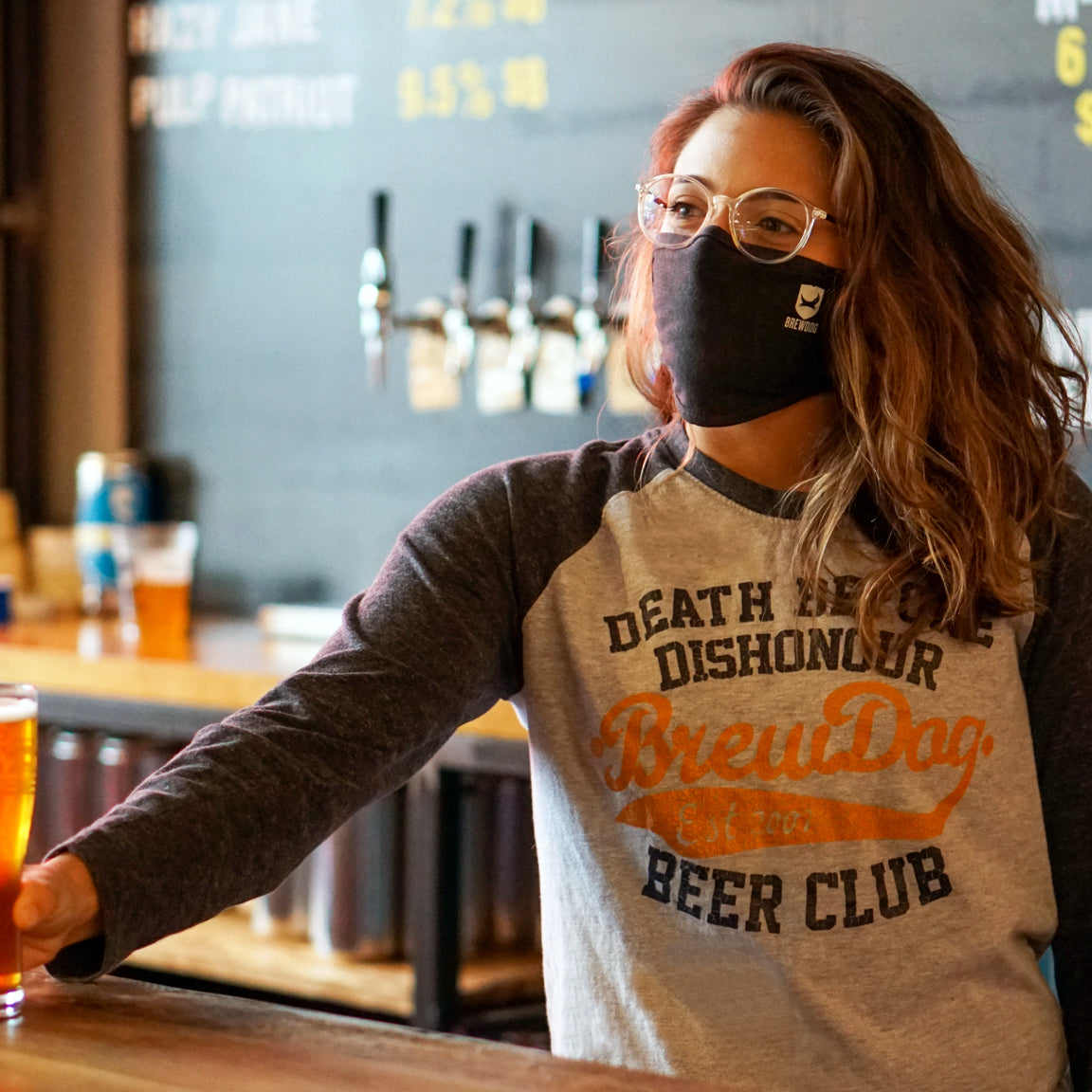 BrewDog Face Mask