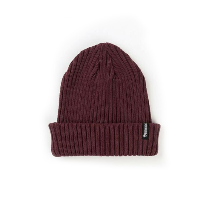 Burgundy Fisherman Beanie