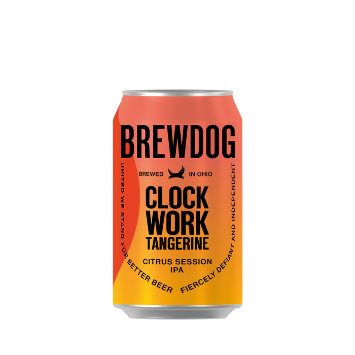 BrewDog Clockwork Tangerine, Citrus Session IPA, 12oz, 6-Pack
