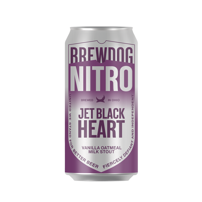 BrewDog Jet Black Heart, Vanilla Oatmeal Milk Stout