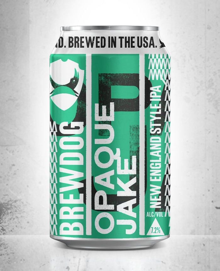 BrewDog Craft Beer Opaque Jake New England IPA