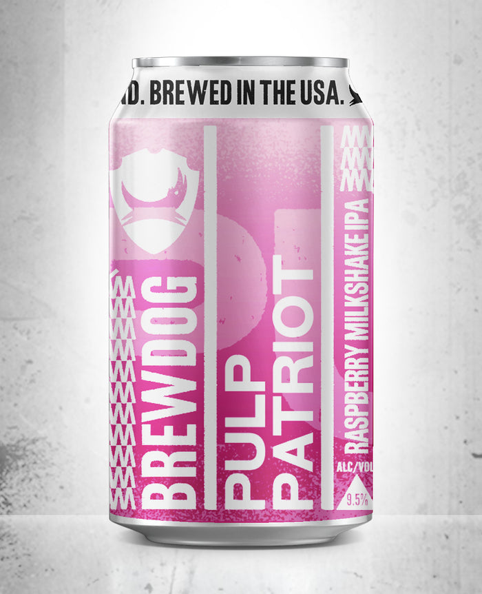 LIMITED Raspberry Pulp Patriot 6 Pack