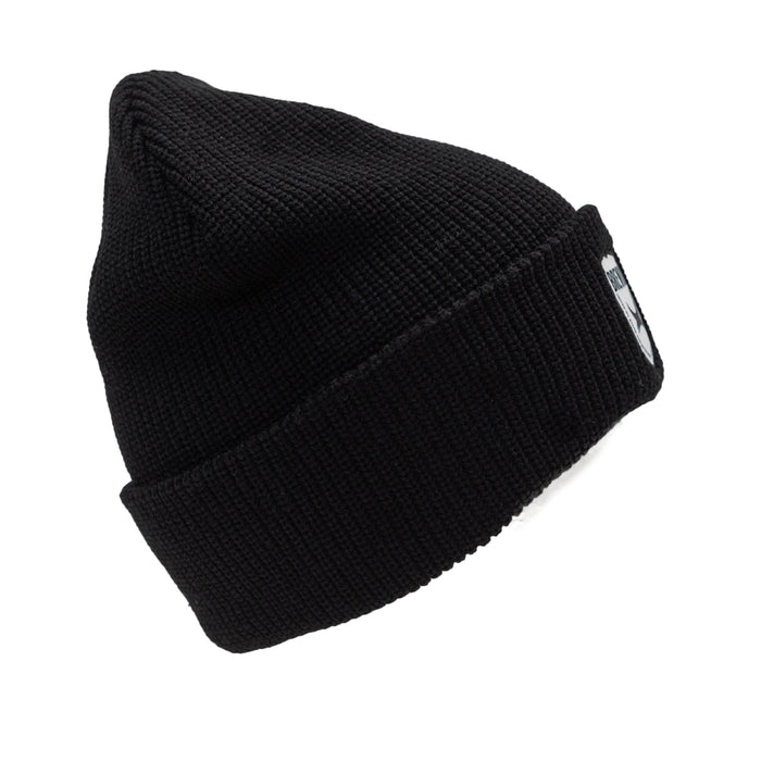 Ribbed Shield Beanie