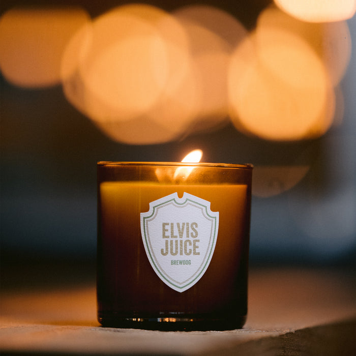 BrewDog Elvis Juice Beer Candle The Candle Lab