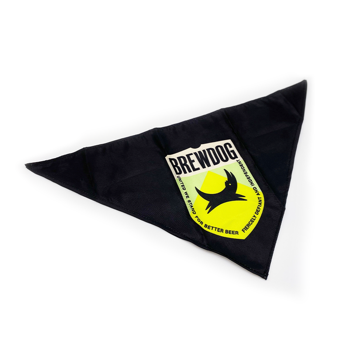 Dog Bandana Green Shield