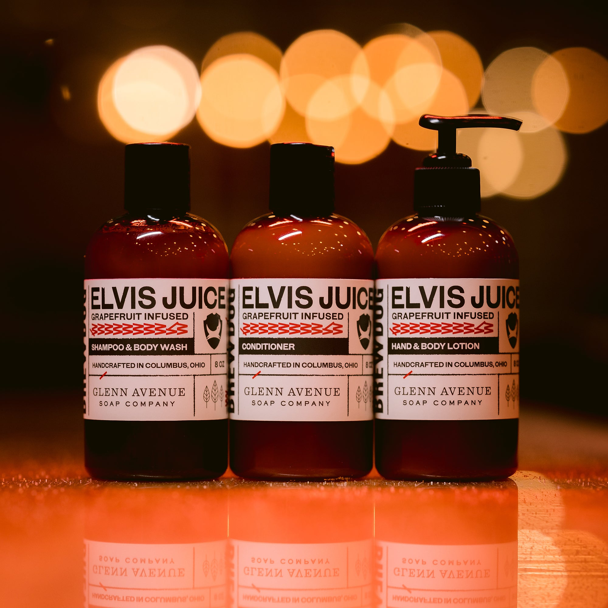 Elvis Juice Toiletries