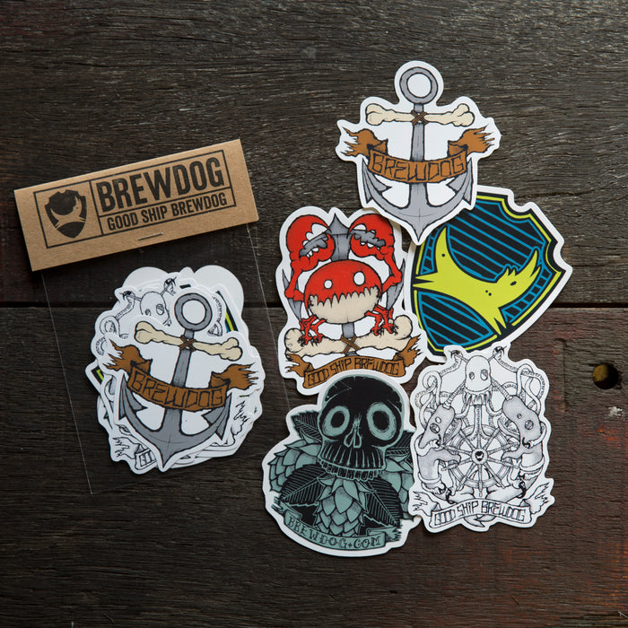 Fisher Sticker Pack