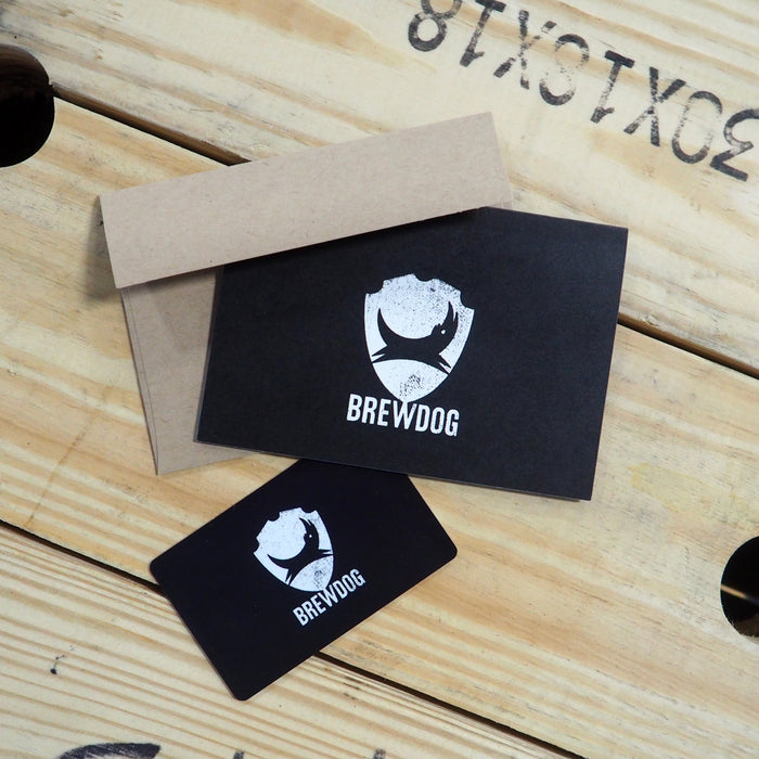 BrewDog Gift Card (for use in bars & DogHouse Hotel only)