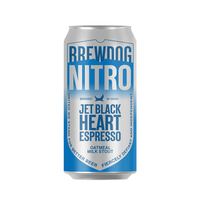 Jet Black Heart Espresso 6 Pack
