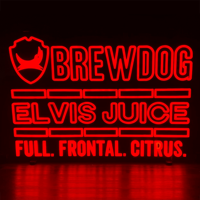 Elvis Juice LED Sign