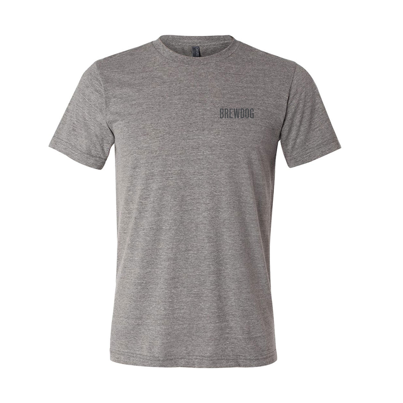 Live Fast Eye T-Shirt - Gray