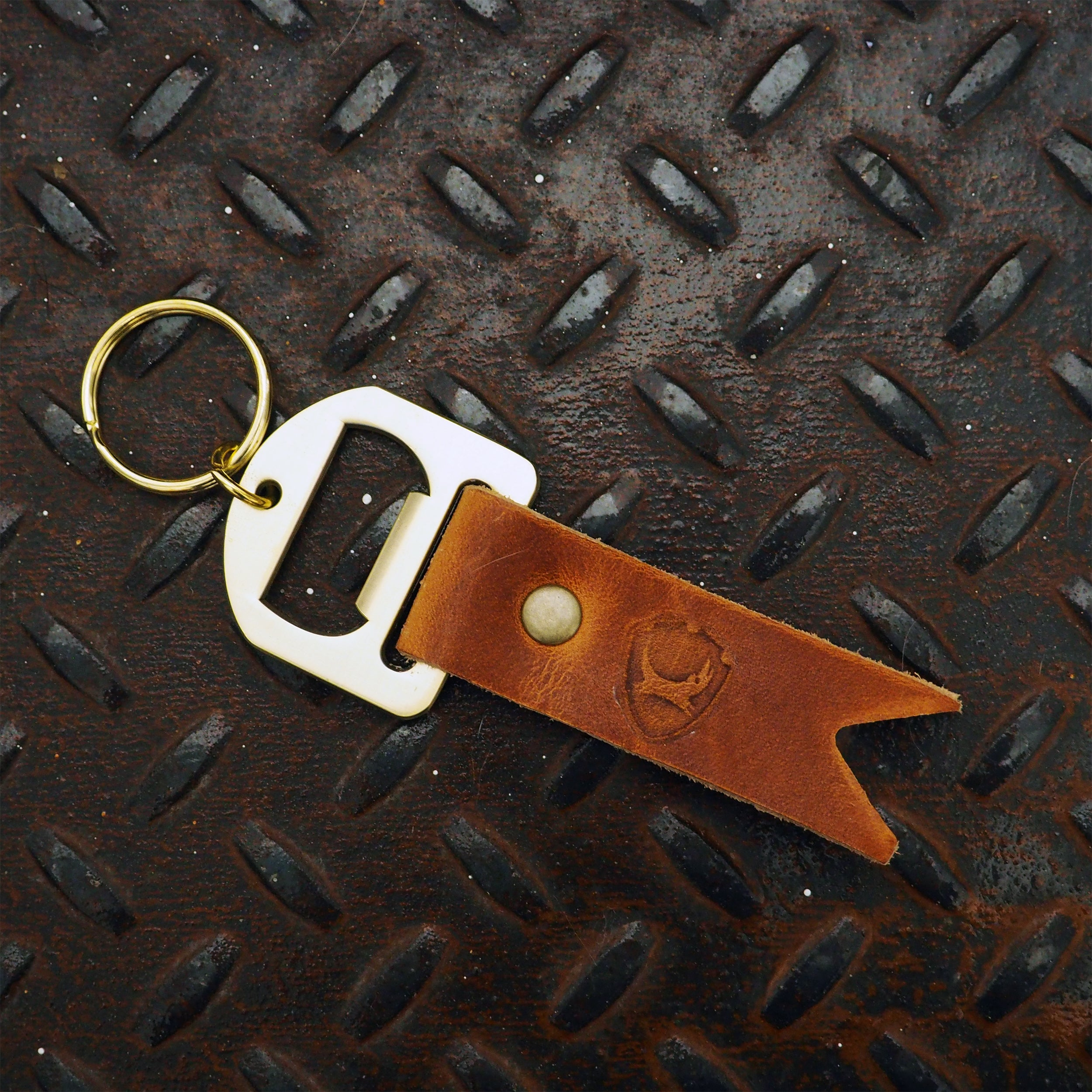 Leather Brewer's Key Fob