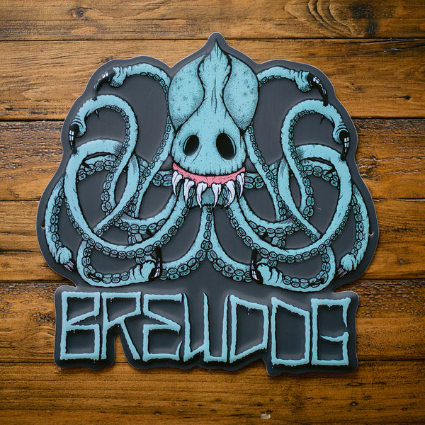 Brewdog Nanny State >> Octopus Metal Tacker Sign – BrewDog