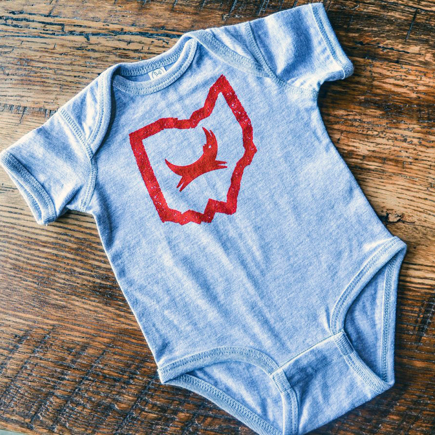 Ohio Dog Baby Onesie