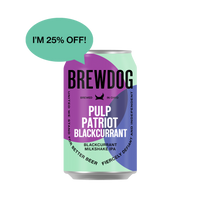 Pulp Patriot Blackcurrant 6 Pack