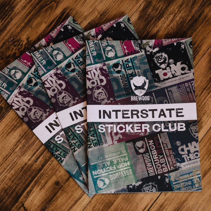 Interstate Sticker Club - Sticker Book