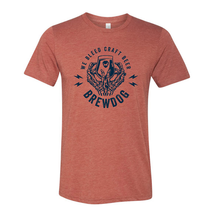 We Bleed Craft Beer T-Shirt - Clay
