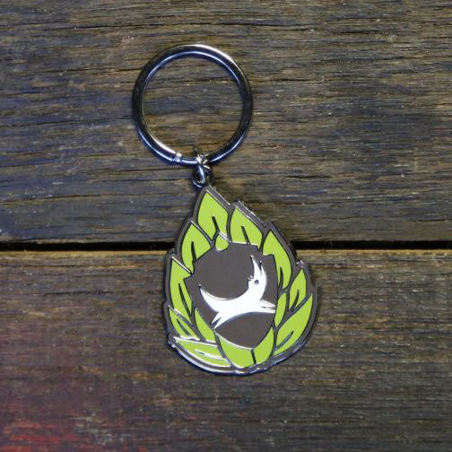 Hoppy Shield Keyring