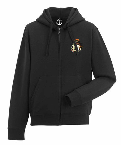 Premium Zipped Hooded Sweatshirt