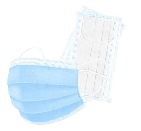 3-ply Disposable Masks (50 Pack)