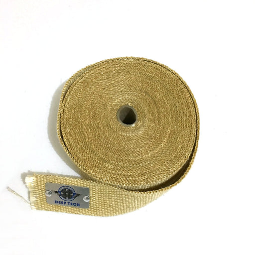 2in Vermiculite Coating Exhaust Header Heat Wrap Better Performance