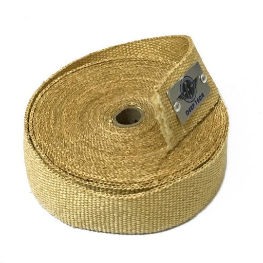 "2""x15ft/5m Vermiculite Coating Exhaust Header Heat Wrap Better Performance"