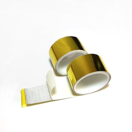 10m X 2inch  Reflect Gold Tape High Performance Reflective Heat Shield Wrap