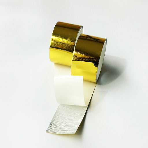 4.5m X 1inch Roll Reflect A Gold Tape High Performance Heat Shield