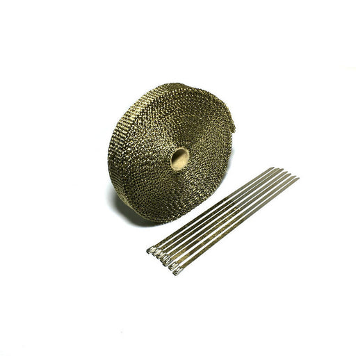 2in Engine Exhaust Heat Wrap Motorcycle Exhaust Header Heat Shield