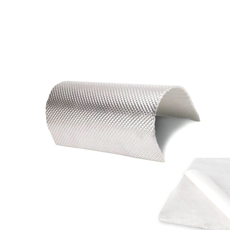Exhaust Heat Shield Barrier with Adhesive