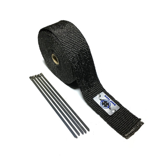 2inch Black Exhaust Wrap Heat Shield
