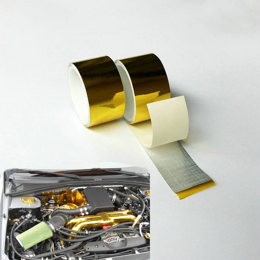 5m x 2inch High Performance Reflective Heat Protection Engine Cool Tape