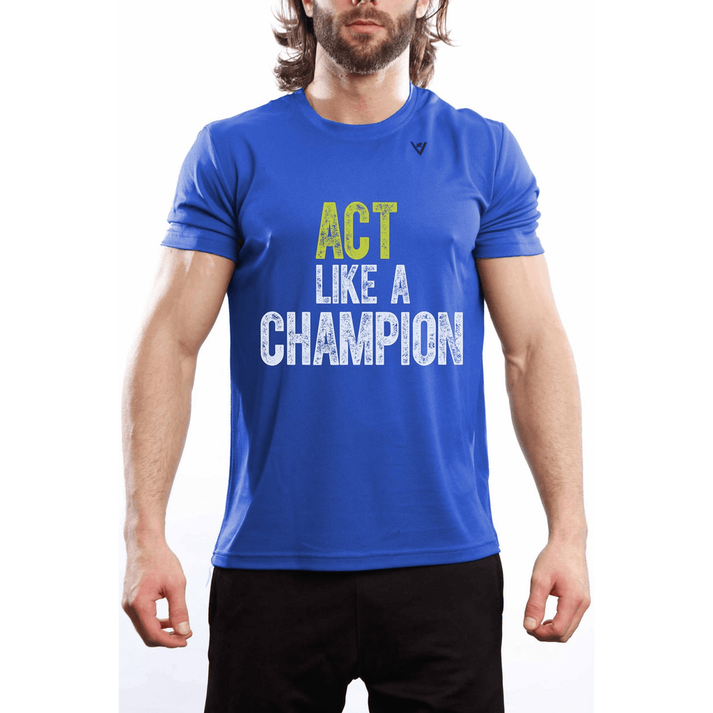 "Men's ""Practice Like A Champion"" short sleeve"