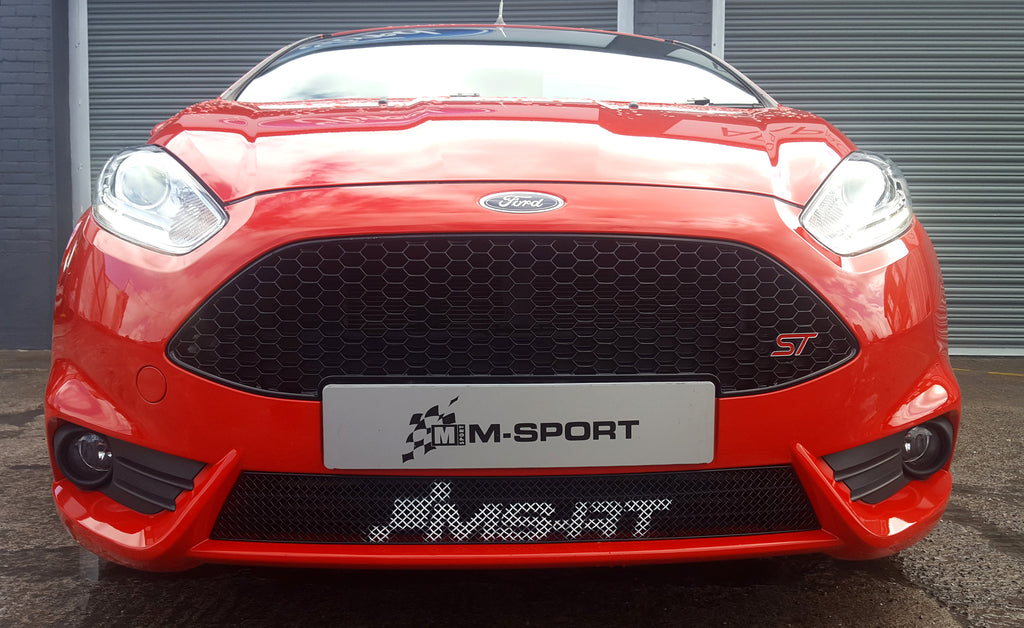 ms rt lower grille for mk7 ford fiesta st m sport store. Black Bedroom Furniture Sets. Home Design Ideas