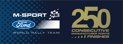 M-Sport 250 Points Commemorative Sticker (Limited Edition!)