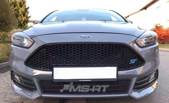 Ms Rt Lower Grille For Mk3 5 Ford Focus St Facelift 2015