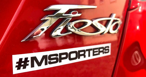 Official #MSPORTERS Sticker