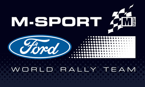 M-Sport Ford World Rally Team 2019 Logo Sticker