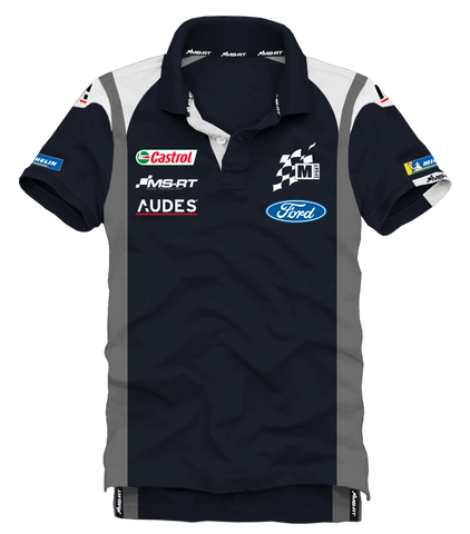 M-Sport Ford World Rally Team 2019 Audes Mens Polo Shirt