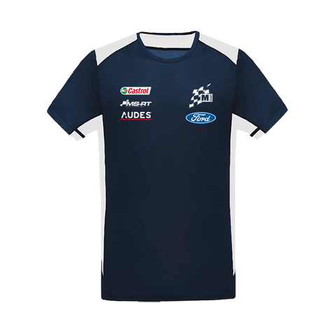 M-Sport Ford World Rally Team Official Team Merchandise T-Shirt